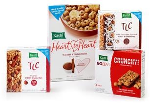 Kashi cereal and bars