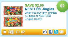 Nestle holiday candy