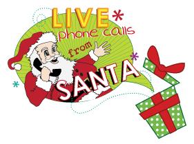 Phone call from Santa