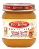Beechnut baby food