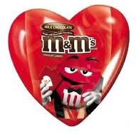 Mars candy hearts