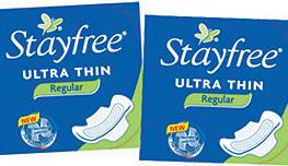 Stayfree pads