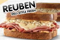 Arby's reuben