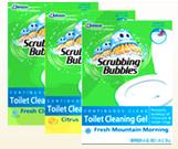 Scrubbing bubbles gel