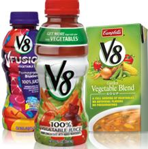 V8 Juices