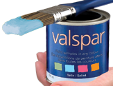 Valspar paint sample