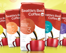 Seattle's Best Coffee bags