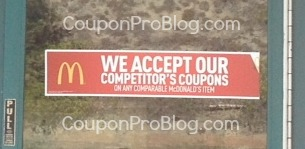 McDonald's accept competitor coupons