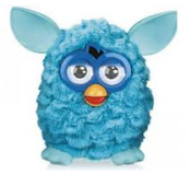 Furby blue