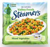Green Giant steamers