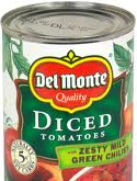 Del Monte tomatoes can
