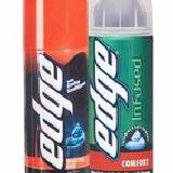 Edge shave gel
