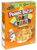 Peanut butter toast crunch cereal