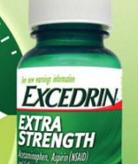 Excedrin bottle