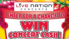 Live Nation concert cash