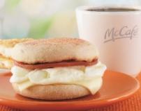 McDonald's egg white