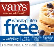 Vans waffles gluten free
