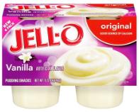 jell-o vanilla pudding