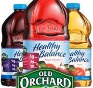Old orchard juice bottles