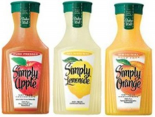Simply juice products