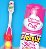 FireFly toothbrush barbie