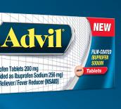 Fast acting advil