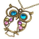 Owl necklace amazon