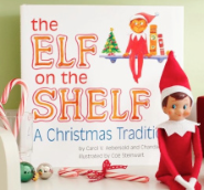 Elf on the shelf storybook