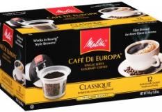 FREE Melitta k-cup coffee samp...