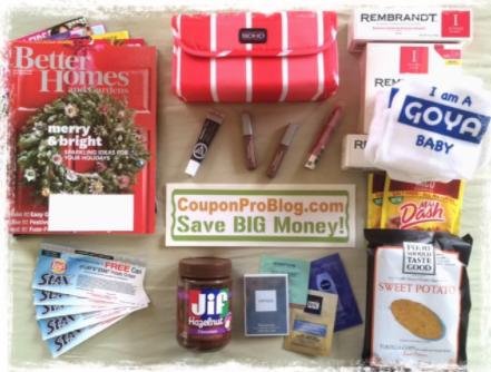 Mailbox freebies 12-2