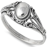 Half Dome Antique Style Ring coupon pro