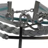 White Leather Rope Bracelet coupon pro