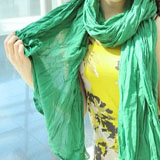 green crinkle scarf coupon pro