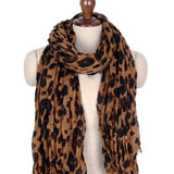 leopard print crinkle scarf coupon pro