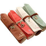 Set of 4 Roll Up Pencil Bags coupon pro
