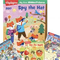 Highlights Hidden Pictures Book